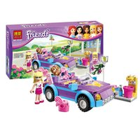 Wholesale Girl friends Building Blocks new Girl friends Stephanie s car Building Blocks B001