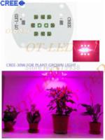 Wholesale Cree Xpe Grow Light - 30W Cree XPE XP-E LED Emitter Red(8PCS)+ Blue(2PCS) Plant Grow Light Emitter DIY 24-26V 350mA~1000MA+AC85-265V Input LED Driver