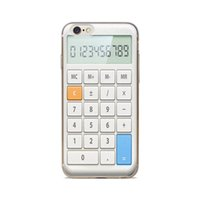 Wholesale Calculator Silicone Case - Wholesale For iPhone 4 4S 5 5S 5C 6 6S 6Plus Of White Button Calculator Of Skin TPU Silicone Gel Protective Cover