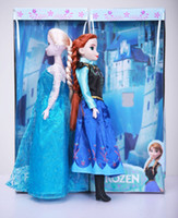 Wholesale Nursery Toys - Hot sale 11.5 inch sing frozen doll music frozen toys sing let it go Anna and Elsa Princess brinquedos toys for children