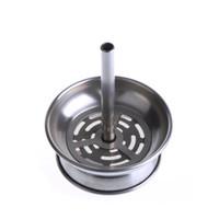shisha filtreleri toptan satış-Soulton Cam Yeni Shisha çelik Filtre Shisha Paslanmaz Çelik Kase Baca Toptan Shisha Kömür Tutucu DHL Ücretsiz Nakliye için Uygun CH-002