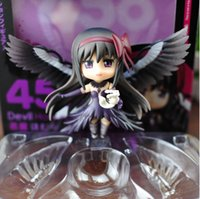 "Wholesale Ultimate Models - Wholesale-Cute Anime doll Nendoroid Ultimate Madoka Magical Girl Puella Magi Akemi Homura PVC action figures model toy 4"""