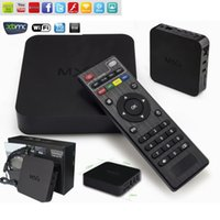 amlogic s805 quad core mxq tv box бесплатно полный hd 1080p видео android tv box дистанционное управление