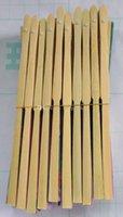Wholesale Asian Folding Fans - Free shipping 100 pcs folding Bamboo Fan Hot sale! Hand made Asian Chinese Silk NEW Wholesale