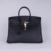 Wholesale Dark Brown Hobo Handbags - new arrival women's casual genuine leather cowhide, hobos, hot sale handbags, totes, fashion,35cm