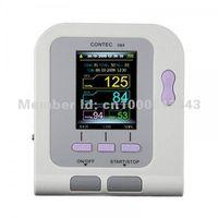 Wholesale Pulse Oxi - Contec08A Digital Blood Pressure Monitor Cuffs USB SpO2 Probe Pulse Rate Ox Oxi Meter Oximeter Oxymeter Patient Oxygen Sensor