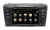 Wholesale Mazda Head Unit - Android 4.4 Car DVD Player for Mazda 3 Mazda3 2004-2009 with GPS Navigation Radio Bluetooth USB SD AUX MP3 WiFi Head Unit