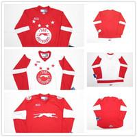 Wholesale Marie S - New Customize OHL Sault Ste Marie Soo Greyhound Jersey Mens Womens Kids Hockey Jerseys Custom Any name Any NO.Goalit Cut Jerseys