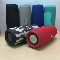 Atacado Charge 3 Bluetooth Speaker Portable Outdoor Subwoofer Speakers HIFI Wireless Music Player Handsfree TF Card com Power Bank