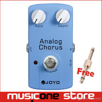 Wholesale Analog Guitar Effects - NEW JOYO ANALOG CHORUS JF-37 blue Guitar Effects Pedal Free connector mu0026