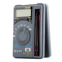 Wholesale Pocket Digital Mini Auto Range - LCD Mini Auto Range AC DC Pocket Digital Multimeter Voltmeter Tester Tool