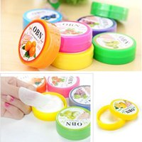 Wholesale Nail Paper Cleaner - 1Set 32PCS Pro Hotsale Nail Art Manicure Flavor Polish Vanish Remover Cleaner Pads Wet Wipes Paper Tool