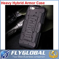 Wholesale Dual Layer Holster Case - Armor Hybrid Dual Layer Holster Case for iPhone 8 8Plus 7 6s Kickstand &Locking Belt Clip Cover For Samsung S8 S7 S6 S5 Note8 Note5