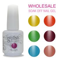 Wholesale Nails Gloss - 120PCS LOT high gloss soak off led uv gel polish nail gel lacquer varnish