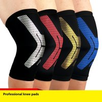 Wholesale Knee Padded Tights - Professional basketball and football running knee patella mountaineering sports riding warm breathable Leggings Tights