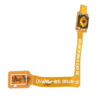 Wholesale Galaxy Note Free Shiping - Power Button On Off Switch Flex Cable Parts For Samsung Galaxy Note 2 T889 Free Shiping