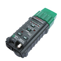 Freeshipping Multifunzionale Palmare Network Cable Tester Wire <b>Line Detector Tracker</b> BNC RJ45 RJ11