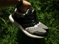 Wholesale Social Shoes - Ultra Boost 3.0 Sneakersnstuff x Social Status Basf Bottom Sneakers Real Boost 350 V2 Black Red All White Zebra Sports Shoes With Box