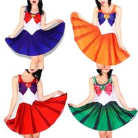 Wholesale Cute Sailor Costumes For Women - EAST KNITTING 10 Colors Sailor Cosplay Sexy Dress Plus Size Halloween Costumes For Women Cute Party Costumes
