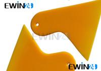 kunststoffplatten großhandel-Großhandel neueste Vinyl-Applikator Fenster Film Griff Rakel Tint Film schöne Blatt Schälmesser Werkzeug 50 stücke