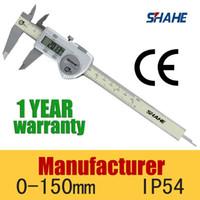 Wholesale Vernier Calipers Digital - Wholesale-calipers Good Quality High Accuracy IP54 Waterproof Digital Vernier Caliper Measuring tool 0.01mm 5110-150