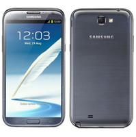 Wholesale Mobile Phone Note Ii - Unlocked Original Refurbished Samsung Galaxy Note II 2 N7100 N7105 Android 4.1 8MP Camera Quad Core 2GB RAM 16GB ROM Mobile Phone