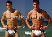 Wholesale California Swimwear - Wholesale-New arrival mens swimwear sexy swimwear men swim trunks men swimwear loose california