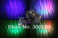 Atacado-E27 surpreendentes Laser Stars Indoor Light Show 150W do laser RG + 3W RGB LED Galactic Lamp Controle de som projector Party Light + remoto