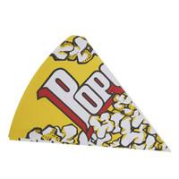 ingrosso festa di compleanno trattare i sacchetti-Scatole di popcorn di contenitore di carta di popcorn di 2 dimensioni Scatole di ossequio di festa per bambini Borse Decorazioni di compleanno di nozze