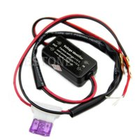 Wholesale Car Led Daytime Running Light Relay Harness DRL ControlL ON OFF Automatic New order lt no track