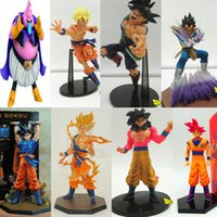 Wholesale Dragon Ball Z Figures Actions - 2016 New Arrival Hot 12 styles Dragon Ball Z Super Saiyan Goku PVC Action Figure Toy doll for kids