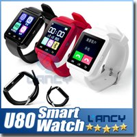 Wholesale Vehicles Gift Boxes - Bluetooth U8 Smart Watch Wrist Watches With Altimeter For iPhone 6 Samsung S6 Note 5 HTC Android Phone In Gift Box