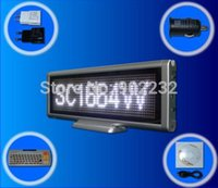 screen / mesa Atacado-Free Navio / SC1664W / Led Message Board / USB sinal programável / Tábua digital brilhante reunião Cor Branca / Alto / Time Clock