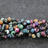 10mm 38pcs / 1Strand Druzy Rainbow Black Agate Beads Naturel Loose Gemstone Crystal Quartz Druzy Agate Collier Pendentif Jewelry Make Connector