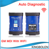 Wholesale Hot Communications - Hot selling GM Diagnostic tool GM MDI with Wilreless Communication WIFI GM ECU Programming tool with DHL Free Shipping