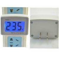 Wholesale Led Digital Voltmeter Blue - US PLUG AC 110V 220V Digital Voltmeter Range 80-300V AC Household Factory VOL Meter With LED Display