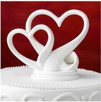 bolo de casamento de mesa superior venda por atacado-Cearamic Cake Topper
