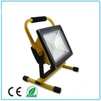 Wholesale Rechargeable 12v Dc Portable Batteries - LED Rechargeable Flood Light ,30W,DC12V,Lithium Battery 6600 mAh,Last For 8.5 Hours,Portable For Working,CE Approval