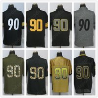 # 90 Watt Todas las colecciones Nombre Stitched Jersey Fashion Lights Out Bandera de Estados Unidos Army Tipo militar Salute Elite Limited Camisetas de fútbol DAK