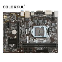 Wholesale micro atx hdmi - Colorful BattleAXE C.B250M-D Plus V20 Motherboard Mainboard Systemboard for Intel B250 LGA1151 DDR4 SATA USB3 M.2 for Desktop PC