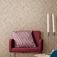 Wholesale Wholesale Straw - Solid Color Non-woven Wallpaper American Minimalist Flax Straw Texture Of Plain Living Room Backdrop Bedroom Full Shop Wallpaper