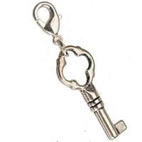 pendentif trèfle homme achat en gros de-bricolage charmes avec fermoirs bracelets colliers pendentif millésime argent curseur en métal touches chanceux trèfle mode bijoux conclusions femme homme 100pcs
