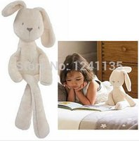 Wholesale Rabbit Stuffed Toy For Babies - MaMas&papas Cute Rabbit Baby Soft Plush Toys Brinquedos 54CM Plush Rabbit Stuffed Toys White Cheapest Price Best Gift for Kids