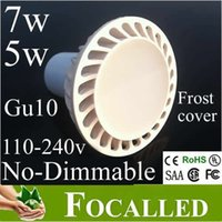 New Style Led Light 5W GU10 Mr16 Led Downlight Lampadina AC90-260V Warm / Cool White CE UL SAA CSA Led Lighting Spotlight 550lm 120 Angolo del fascio