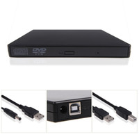 Wholesale Dvd Combo Drive Laptop - New USB 2.0 External DVD Combo CD-RW CD±RW Burner Drive Black