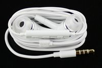 ingrosso volume s3-Cuffie auricolari In-Ear con microfono a cancellazione del rumore da 3,5 mm di alta qualità con volume microfono remoto per tutti i cellulari SAMSUNG GALAXY S2 S3 S4 S5 S6