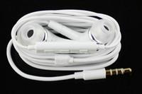auriculares galaxy s5 al por mayor-De calidad superior auricular de auriculares de 3.5 mm de cancelación de ruido en la oreja con volumen de micrófono remoto para todos los iphone Samsung Galaxy S2 S3 S4 S5 S6