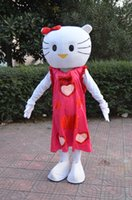 2016-5 new Christmas lovely fancy dress Frozen red hello kitty Costumi Mascot halloween easter Performance Animal adulti costumi per ragazzi