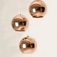 Wholesale Office Mirrors Wholesale - Mirror Ball Pendant Light Dining room Glass Pendant lamp By Tom Dixon Design