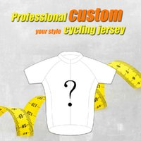 Wholesale Custom Cycling Jerseys - Custom cycling jersey bib kit men sport jersey bicycle clothes biker wear sport mtb Ropa Ciclismo bicicletas maillot ciclismo
